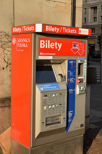 ticket-automat-warschau